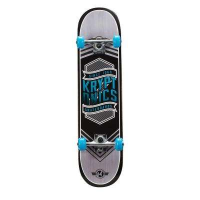 31 in. Flag Blue Drop-In Complete Skateboard