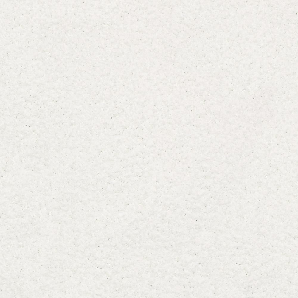 Plume Perfect Dandelion Texture 24 in. x 24 in. Carpet Tile (4 Tiles/Case)