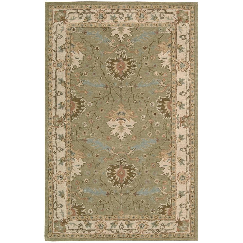Nourison Earth Treasures Sage 8 ft. x 10 ft. 6 in. Area Rug