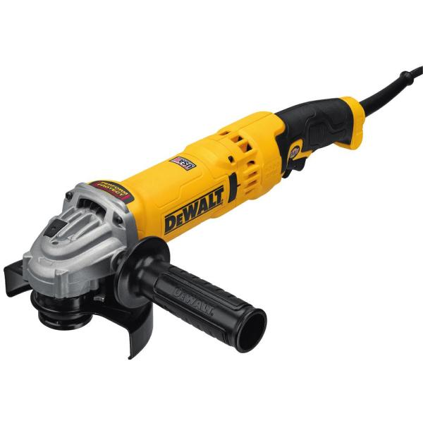 13-Amp Corded 4-1/2 in. - 5 in. High Performance Trigger Grip Angle Grinder