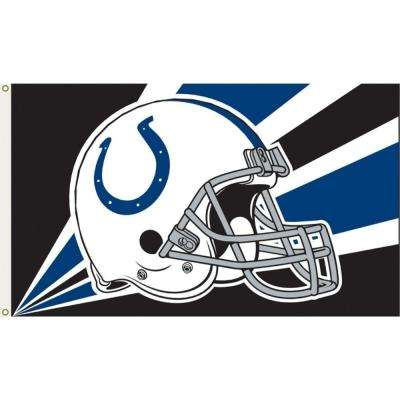 3 ft. x 5 ft. Polyester Indianapolis Colts Flag