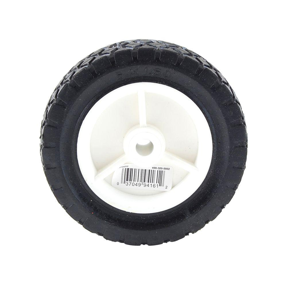 Power Care 6 In X 1 1 2 In Plastic Wheel For Lawn Mower