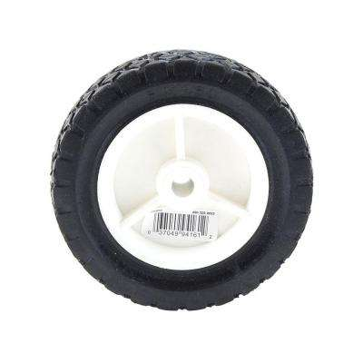 6 in. x 1-1/2 in. Plastic Wheel for Lawn Mower