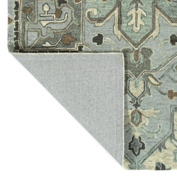 Kaleen Chancellor Spa 8 Ft X 10 Ft Area Rug Cha09 56 810 The Home Depot