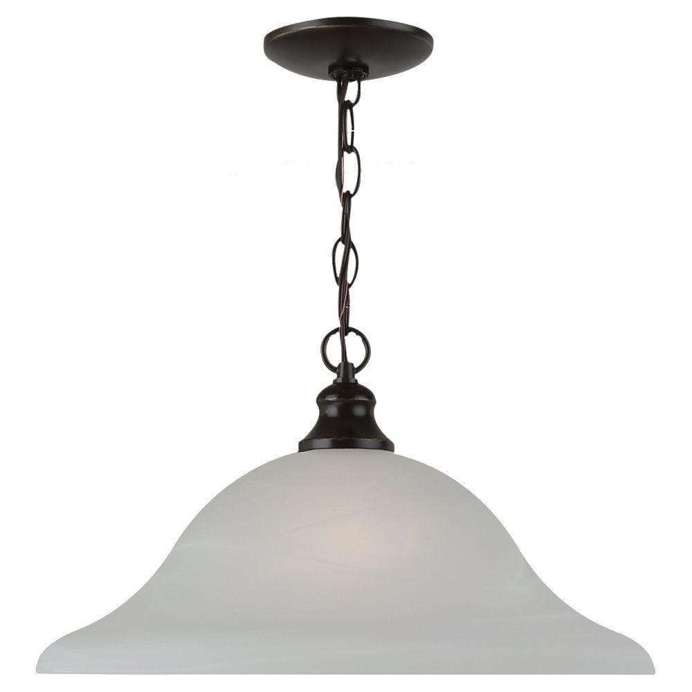 Sea Gull Lighting Windgate 1-Light Heirloom Bronze Pendant