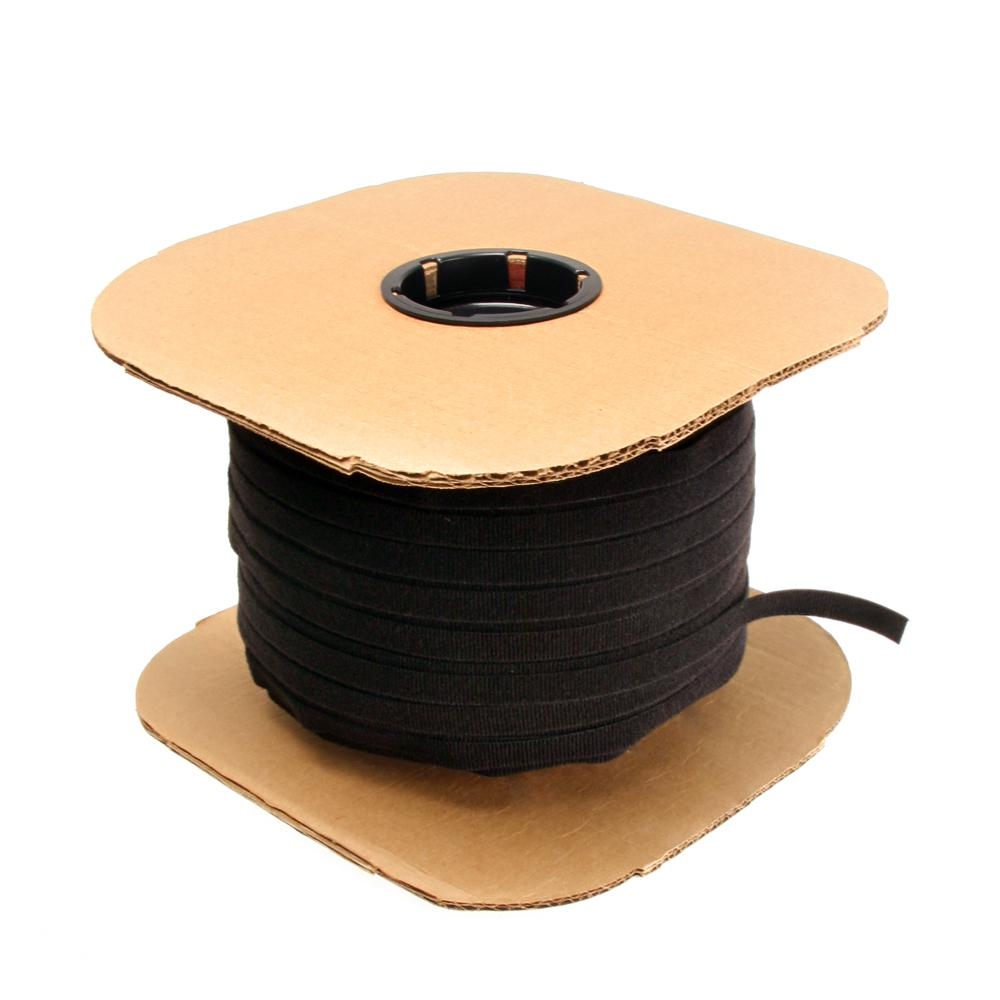 Cable Management Solutions 600 ft. VELCRO Brand Bulk Roll, Black