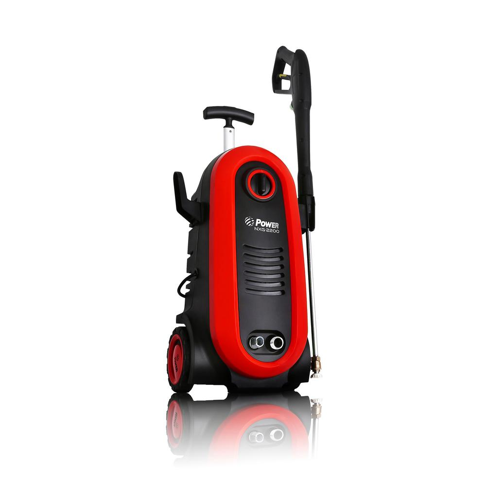 POWER 2200 PSI 1.76 GPM Red Electric Pressure Washer