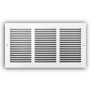 Everbilt 16 in  x 8 in  White Return Air Grille-E170 16X08 - The Home Depot