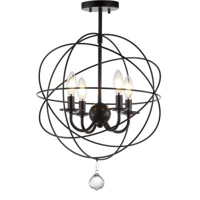 Alma 12 in. Oil Rubbed Bronze Metal LED Flush Mount