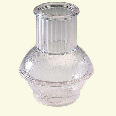 11 oz. SAN Plastic Carafe in Clear (Case of 36)