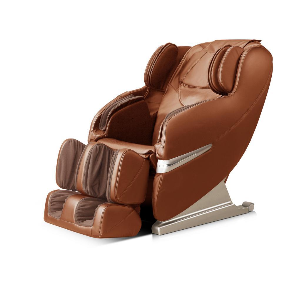 WES41-3000-CML Caramel Leatherette Massage Chair