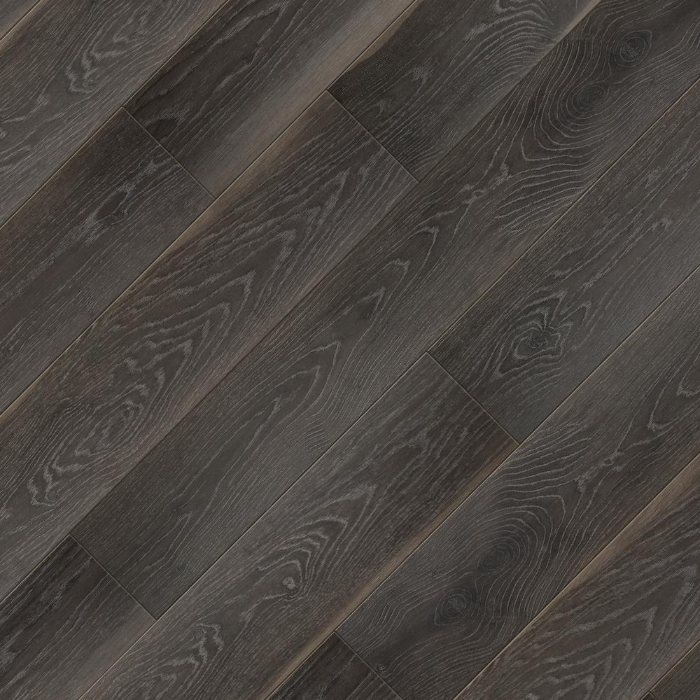 Take Home Sample - EIR Dusk Oak Laminate Flooring - 5 in. x 7 in.