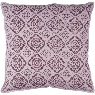 Coalecroft Purple Graphic Polyester 18 in. x 18 in. Throw Pillow