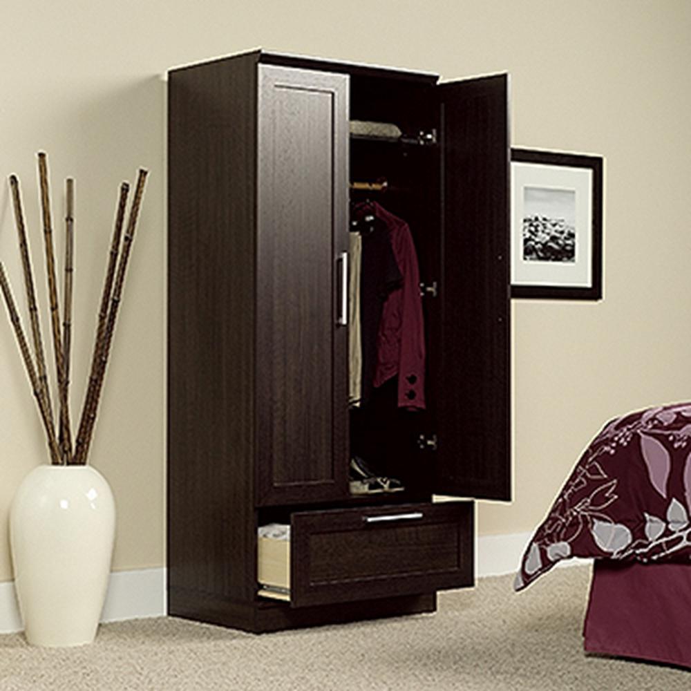 1dca774d7b86 Salt Oak Wardrobe Storage Cabinet-423963 - The Home Depot