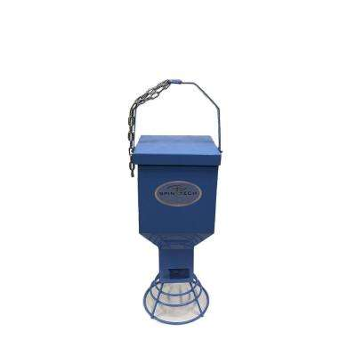 Heavy Duty Metal Bird Feeder in Blue