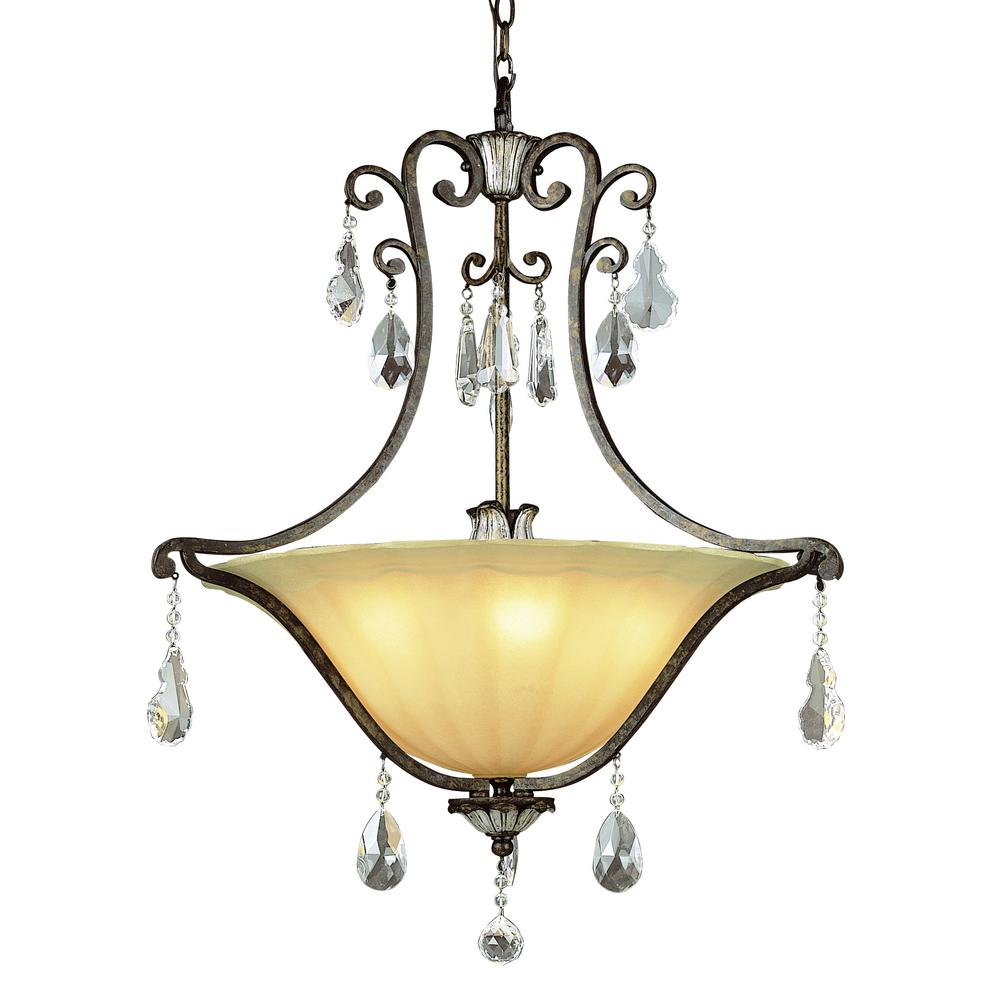 Bel Air Lighting Chatsworth 5-Light Antique Bronze Pendant