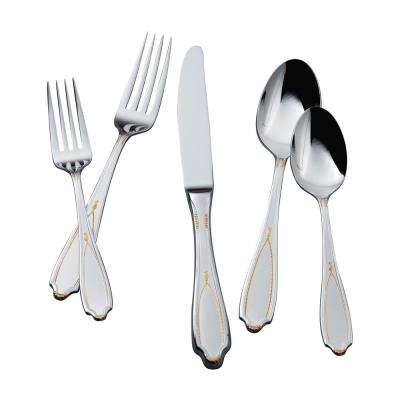 Victoria GA 5-Piece Flatware Place Setting