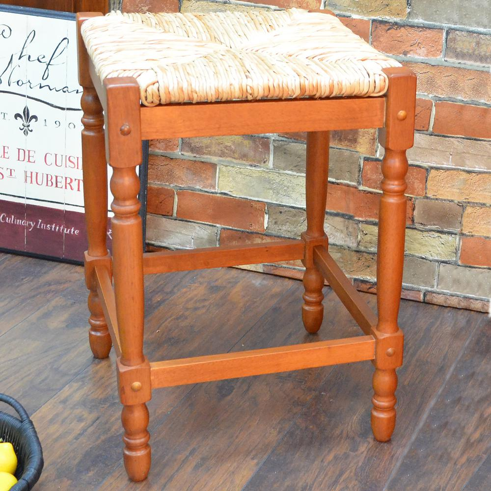 Carolina Cottage Hawthorne 23 75 In Walnut Bar Stool 2662