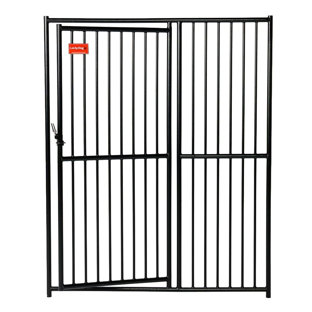 Lucky Dog European Style 6 ft. H x 5 ft. W Kennel Gate