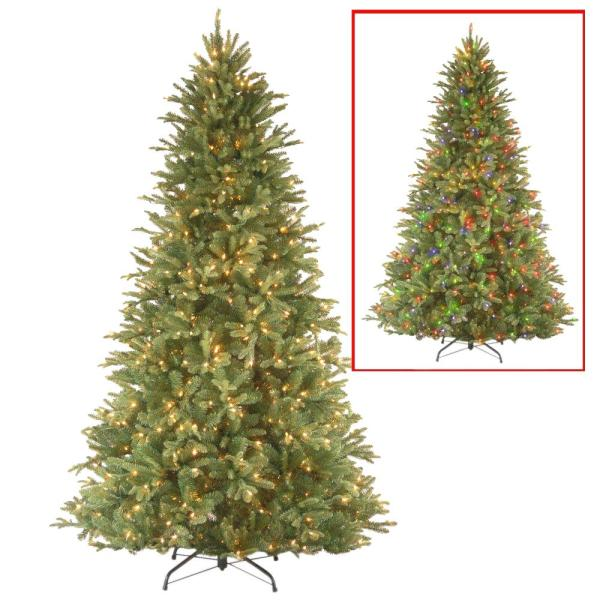 7.5 ft. PowerConnect Tiffany Fir Tree with Dual Color LED Lights