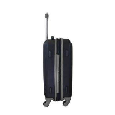 MLB New York Mets 21 in. Gray Hardcase 2-Tone Luggage Carry-On Spinner Suitcase