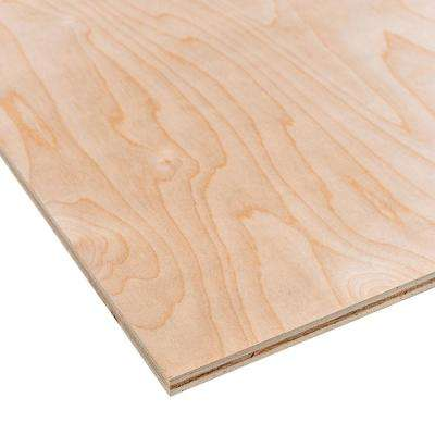 Sande Plywood (Common: 5.2 mm x 2 ft. x 4 ft.; Actual: 0.205 in. x 23.75 in. x 47.75 in.)