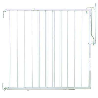 29.5 in. H x 26.5 in. to 40.5 in. W x 1 in. D Dura Gate in White