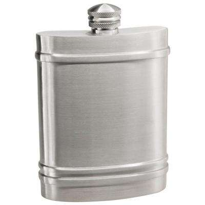 6 oz. Fairmount Pewter Liquor Flask