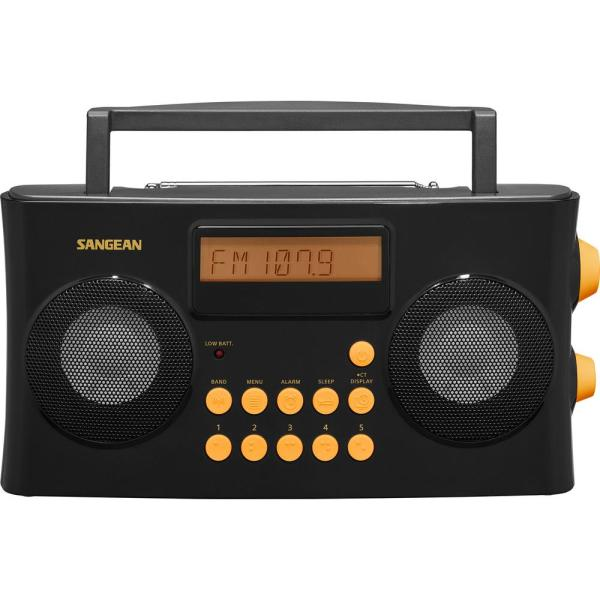 AM/FM Portable Vision Impaired Radio with Voice Prompts