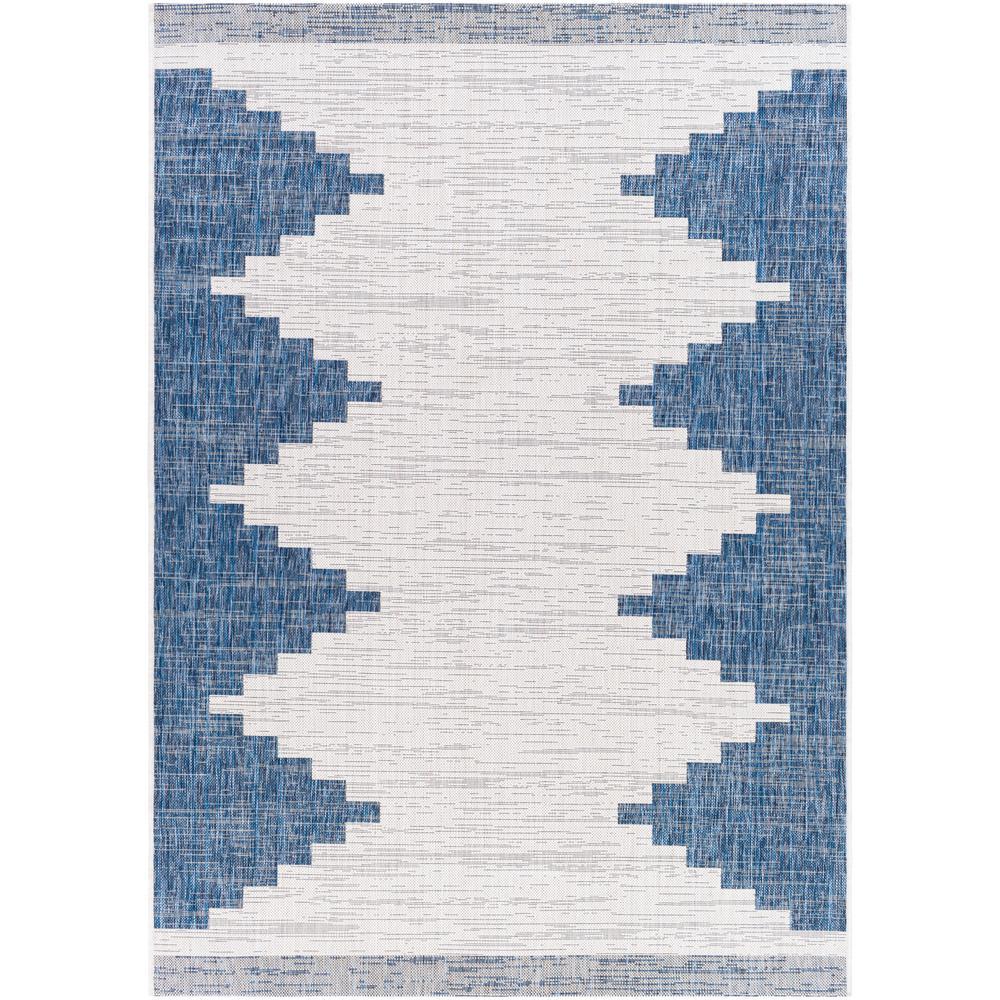 Artistic Weavers Lageli Navy 4 Ft 3 In X 5 Ft 11 In Indoor Outdoor Area Rug S00161039735 The Home Depot