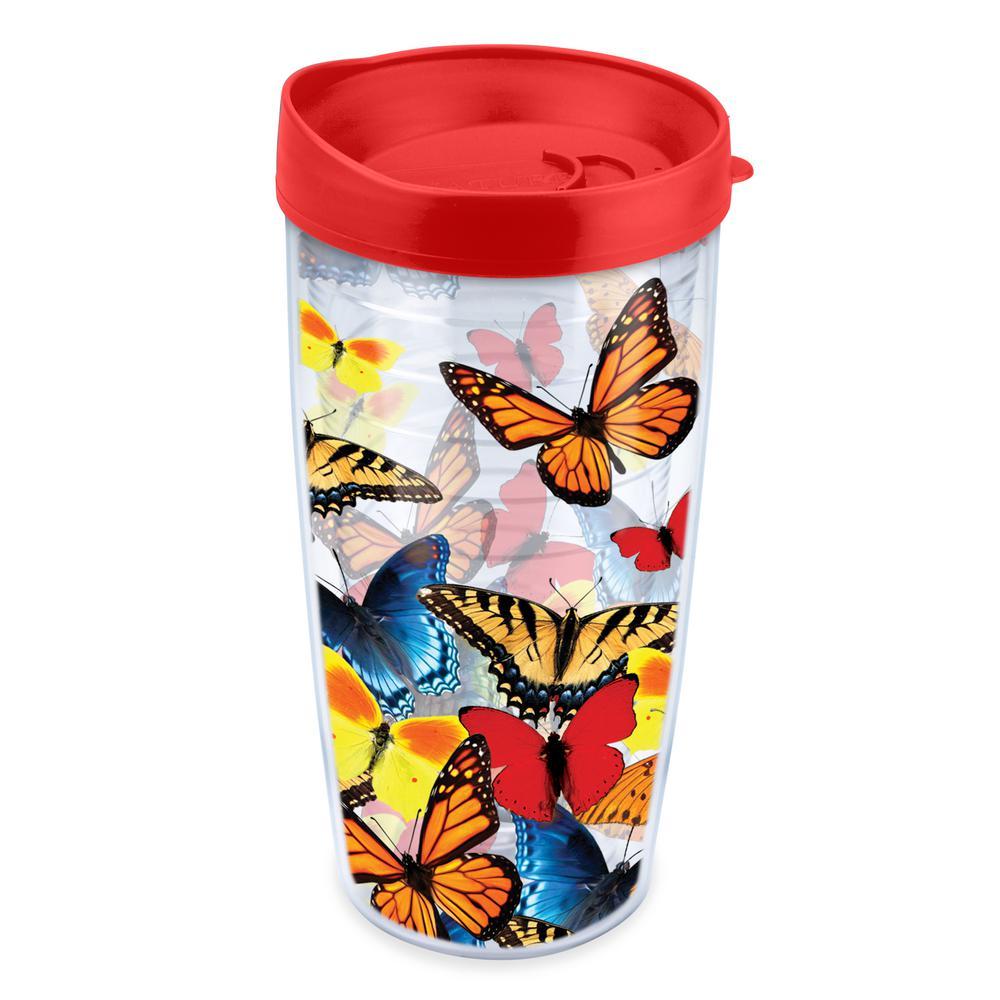 Varied Butterflies 16 oz. Tumbler