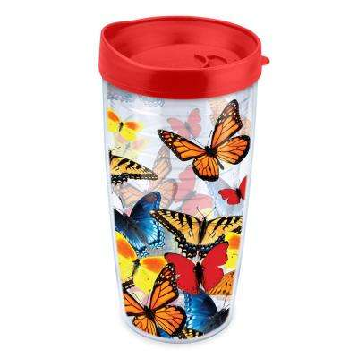 Varied Butterflies 16 oz. Tumbler