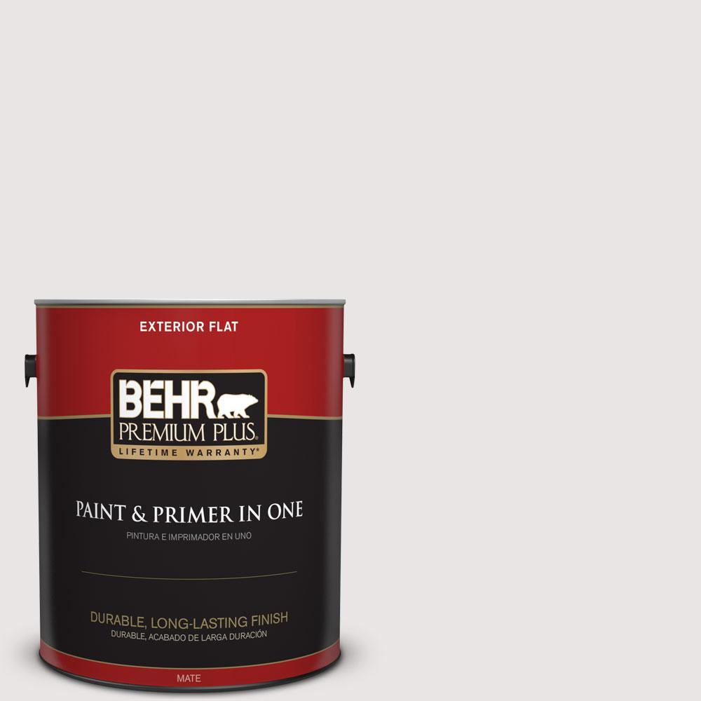 BEHR Premium Plus 1-gal. #PPL-53 Soft Violet Flat Exterior Paint