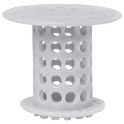 1.5 in. - 1.75 in. Drain Protector Hair Catcher in Gray