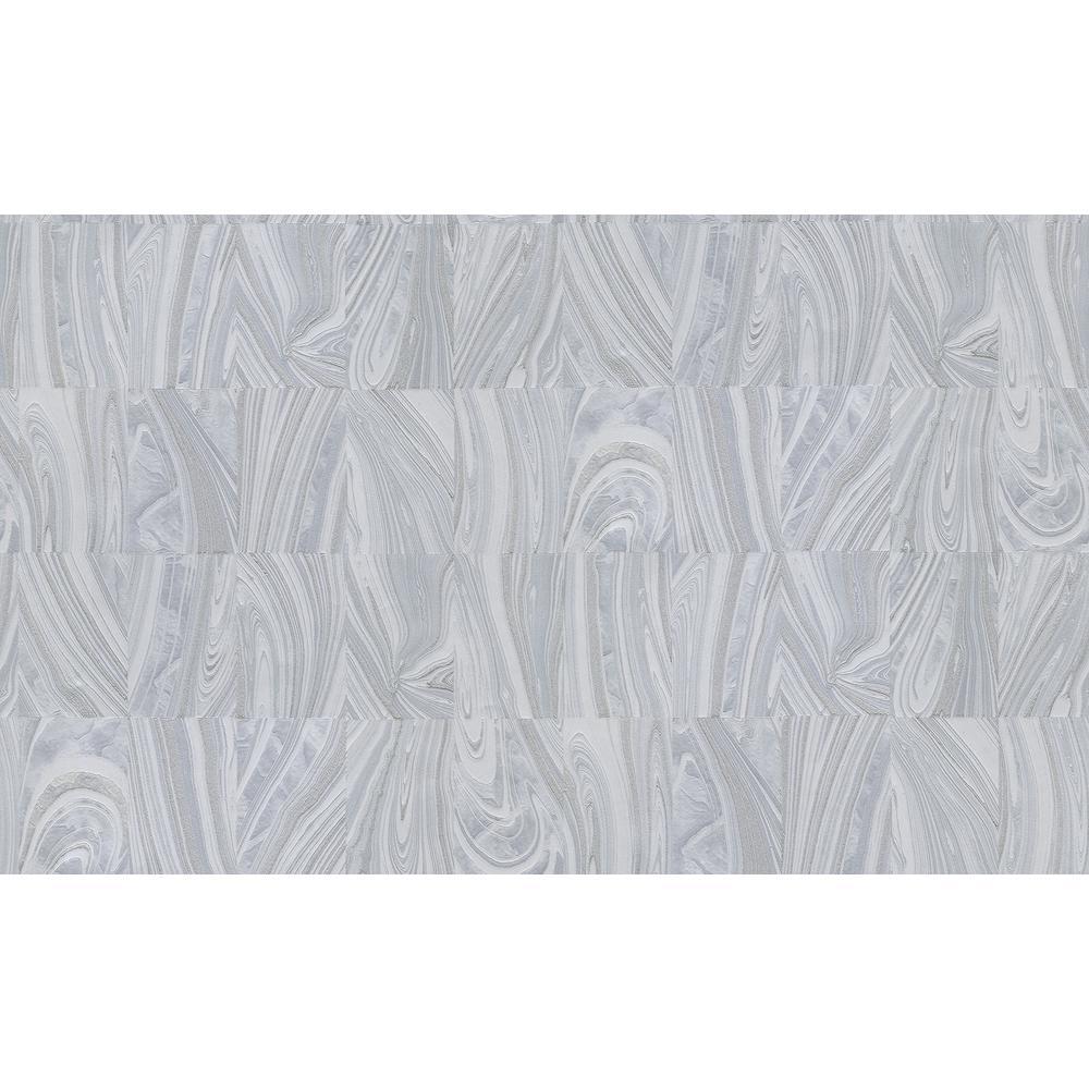 Boulders Ivory Glitter Marble Wallpaper