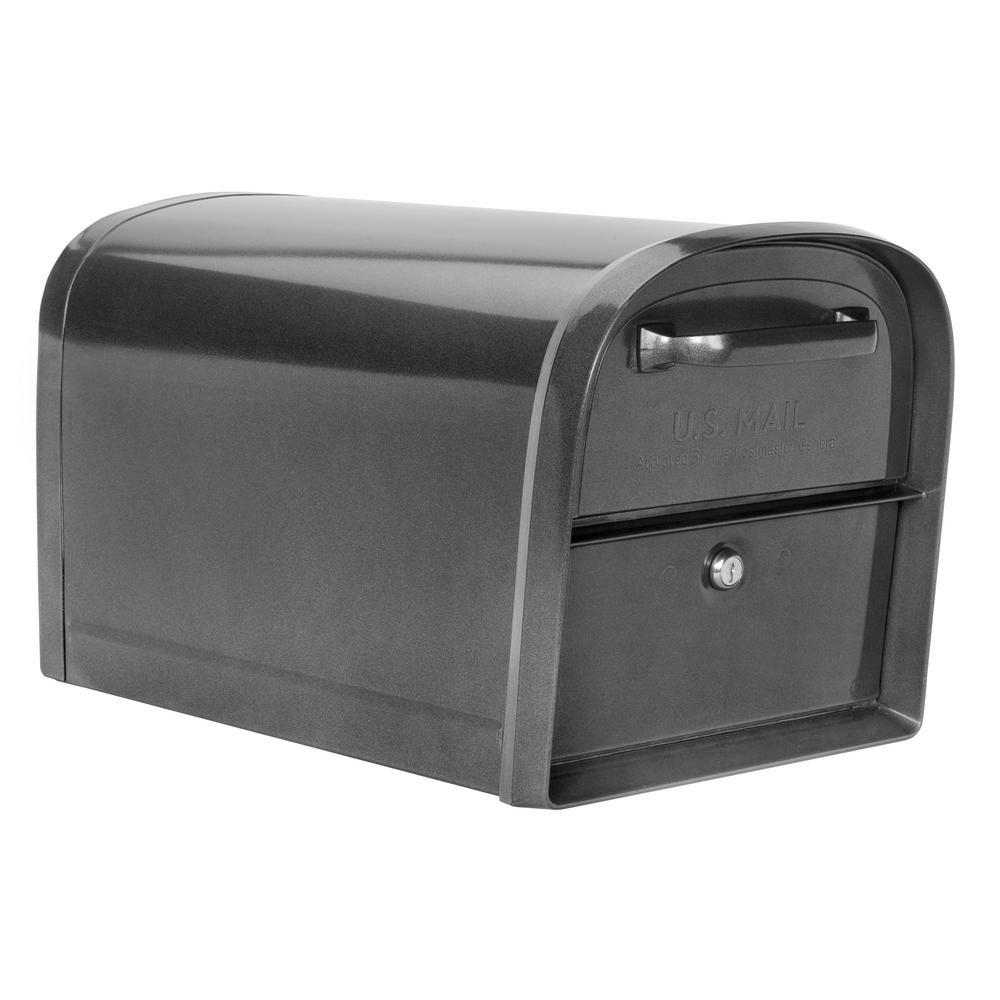 Pewter Architectural Mailboxes 6300P-10 Locking Parcel Mailbox X-Large