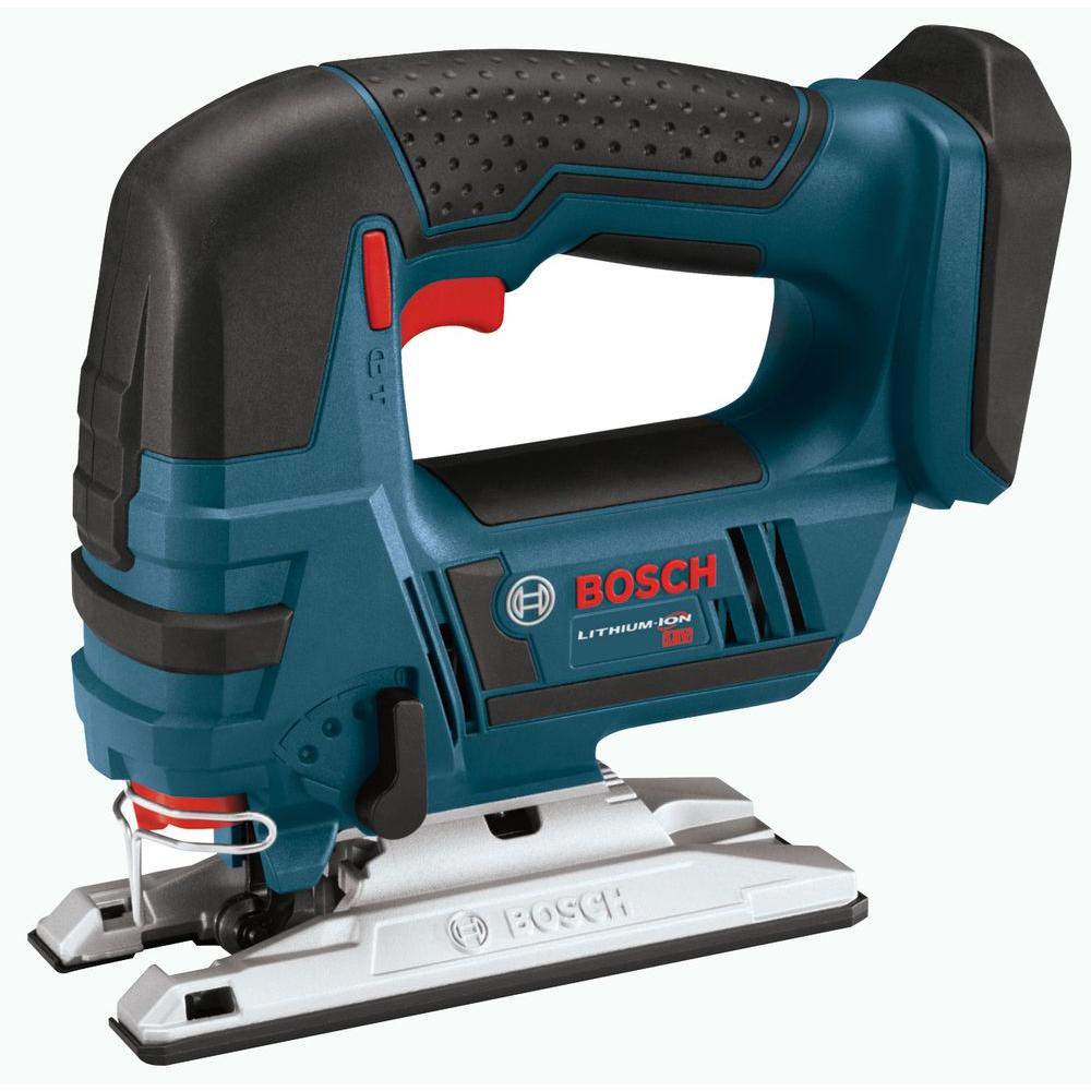 Bosch 18 volt lithium ion cordless electric variable speed jig saw bosch 18 volt lithium ion cordless electric variable speed jig saw tool only greentooth Gallery