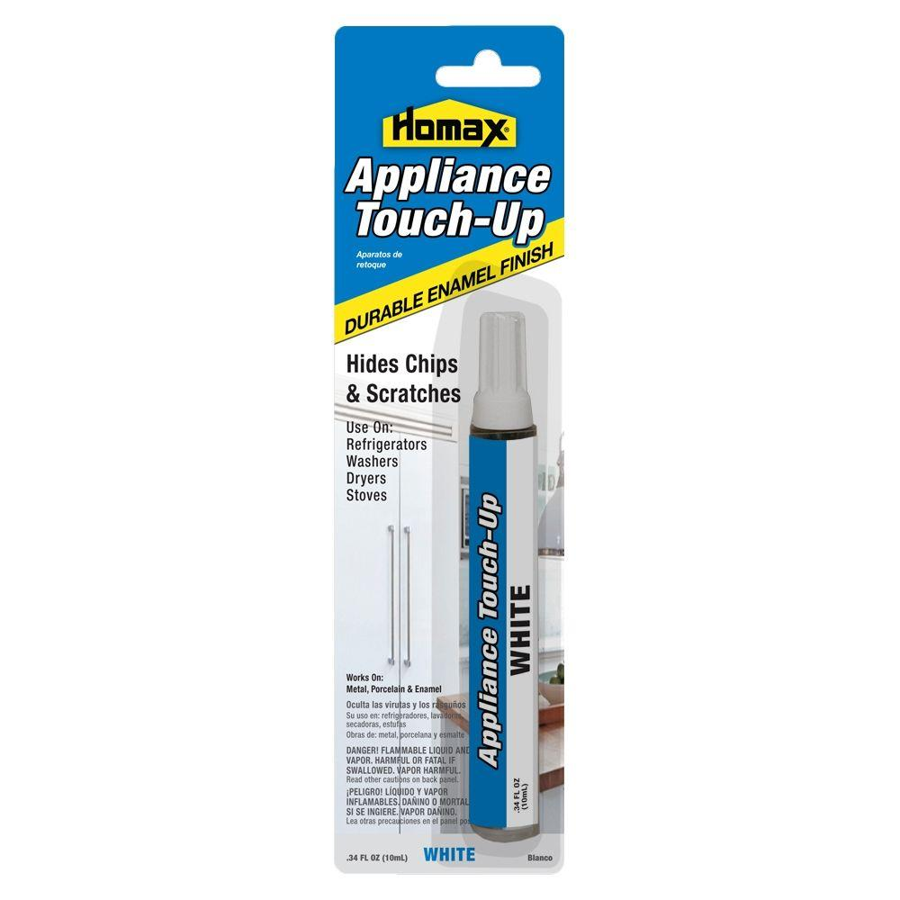 Homax 0.34 oz. Appliance Touch Up White Pen