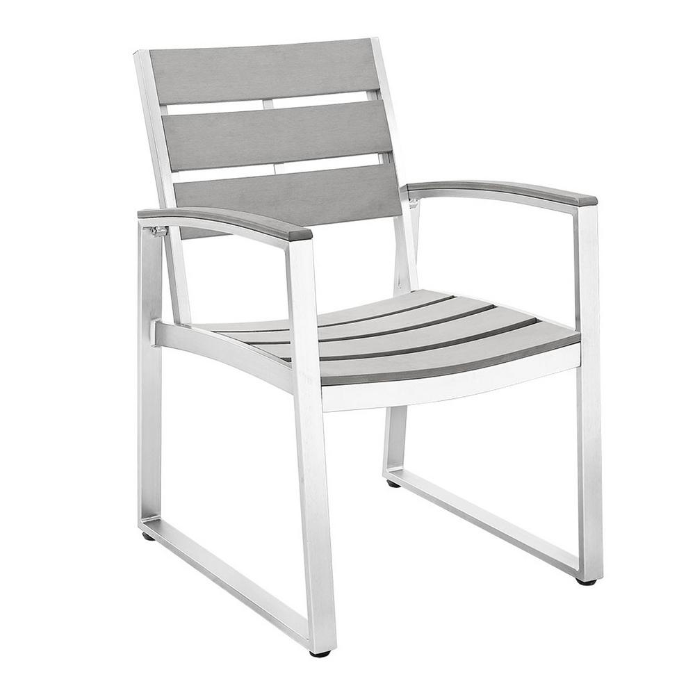 Walker edison furniture company all weather grey patio for All weather garden chairs