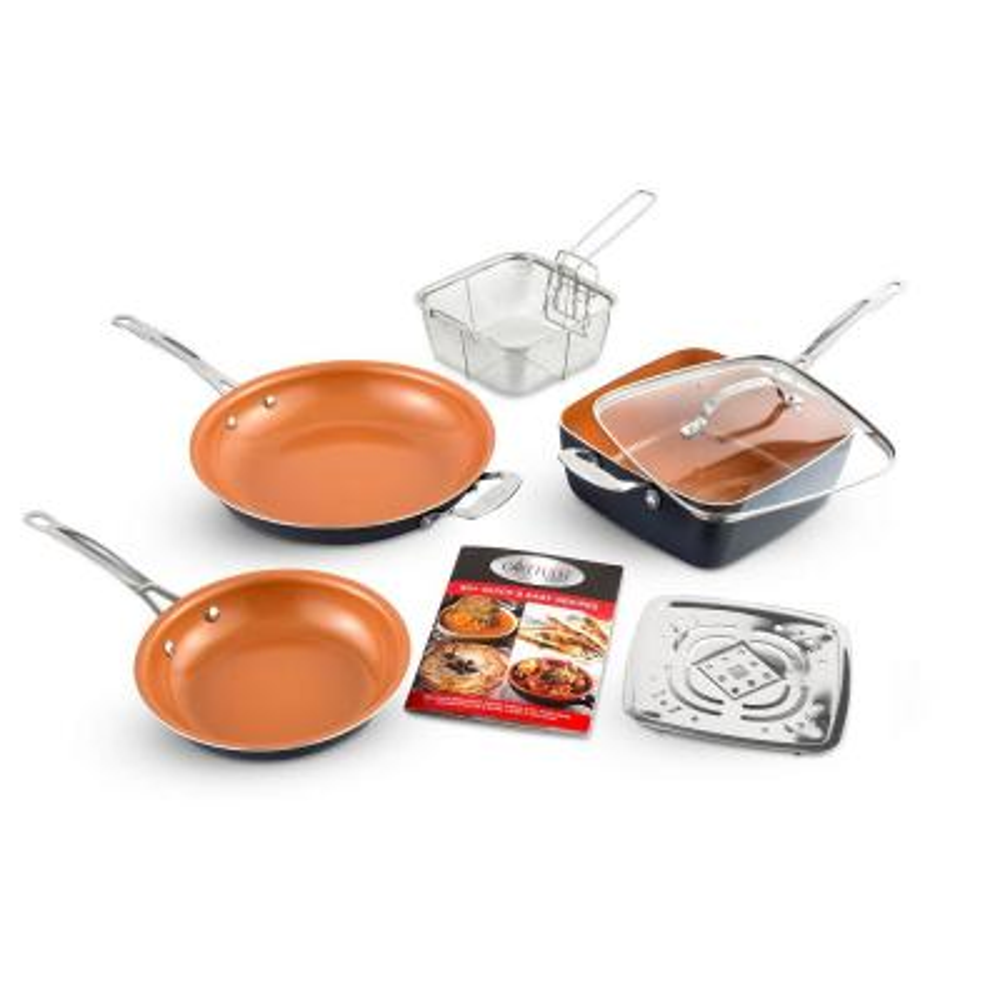 7-Piece Non-Stick Ti-Ceramic Cookware Set with Lids
