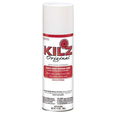 13 oz. White Oil-Based Interior Primer, Sealer and Stain-Blocker Aerosol