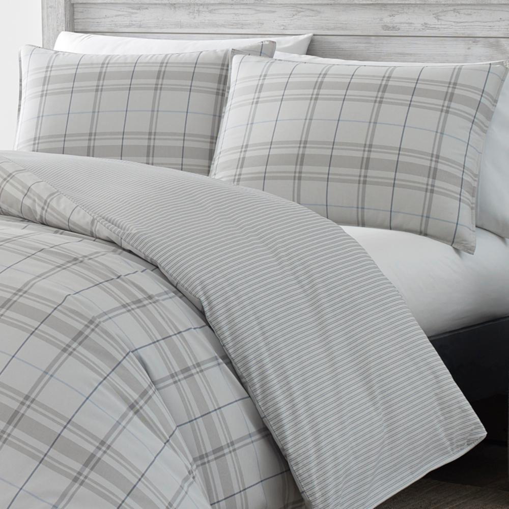 Grays Harbor Plaid Cotton Comforter