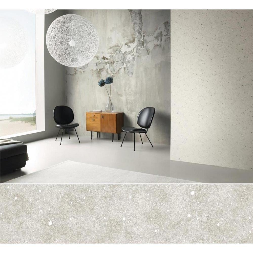 Washington Wallcoverings 102 in H x 126 in W Distressed Gray Toned