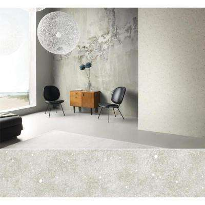 102 in. H x 126 in. W Distressed Gray Toned Faux Concrete Wall Mural