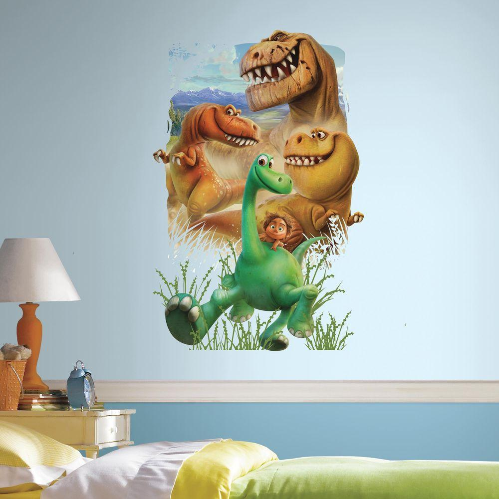 H The Good Dinosaur Gang L And Stick Giant Wall Decal