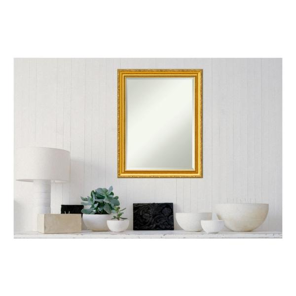 Amanti Art Colonial Embossed Gold Wood 22 in. x 28 in.