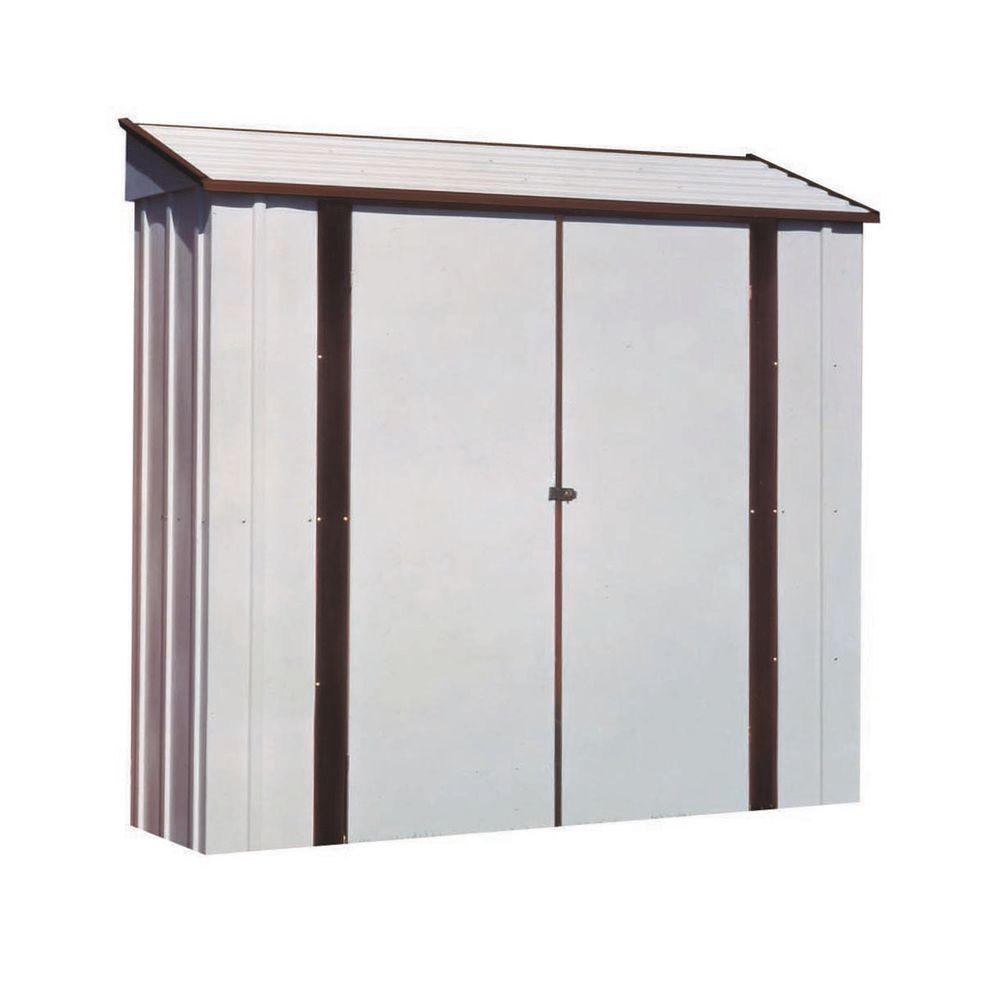 Arrow 7 ft. x 2 ft. Metal Storage Locker