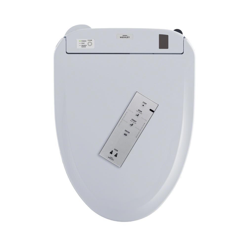 TOTO Connect+ S300E Electric Bidet Seat for Elongated Connect+ Bidet ...
