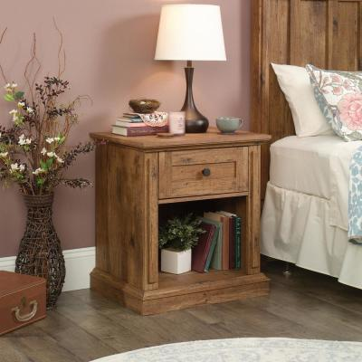 New Grange 1-Drawer Vintage Oak Nightstand