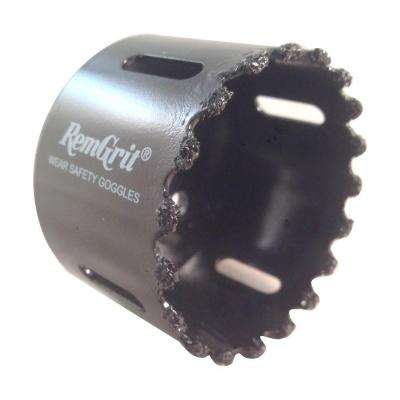 2-3/8 in. Diameter Carbide Grit Hole Saw